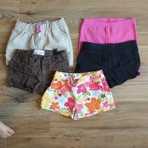 3t shorts spring/summer lot OBO